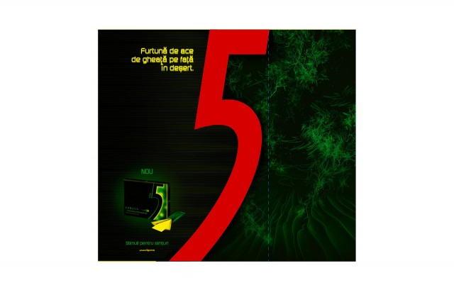 5 gum poster red 8i studio