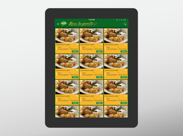 Agricola app recipes list 8istudio