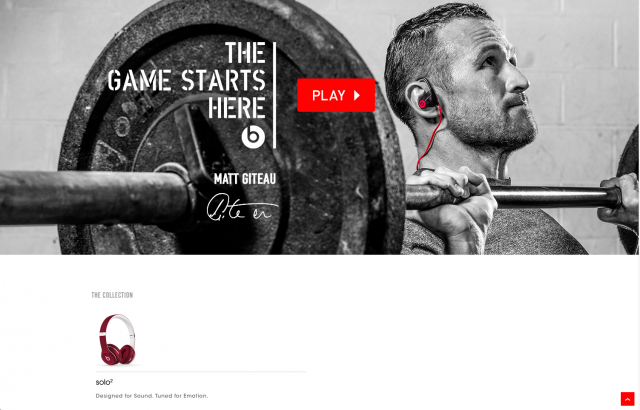 Beats By Dre product page 3 8istudio