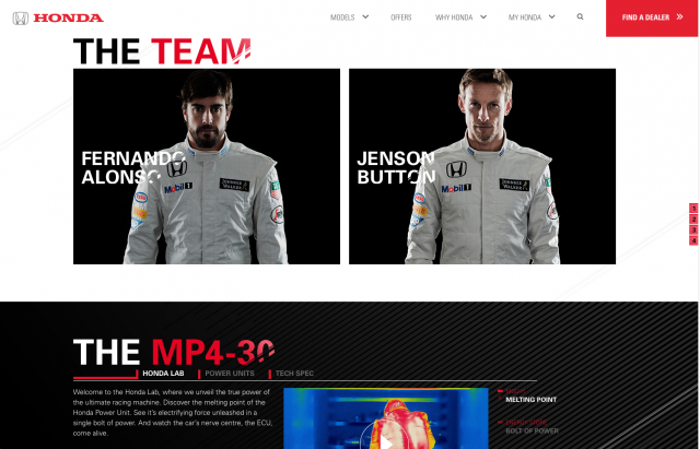 Honda desktop F1 team layout 8istudio