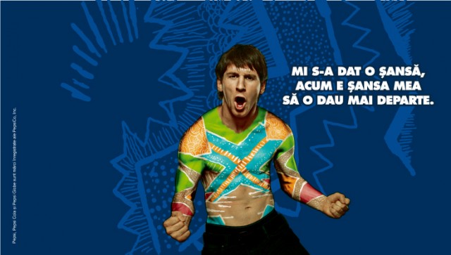 Pepsi Brazil Campaign Messi outdoor 8istudio