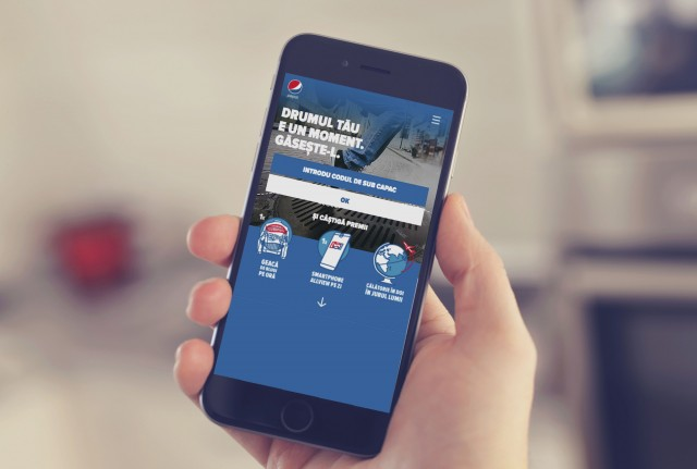 Pepsi mobile mock up 8istudio